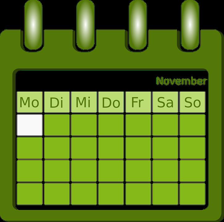 calendario: quando fare lo spurgo